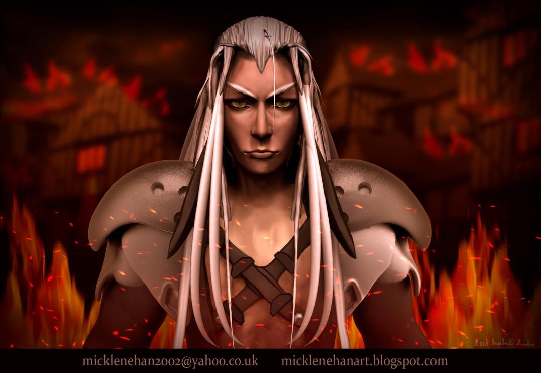 Sephiroth by Mick2006