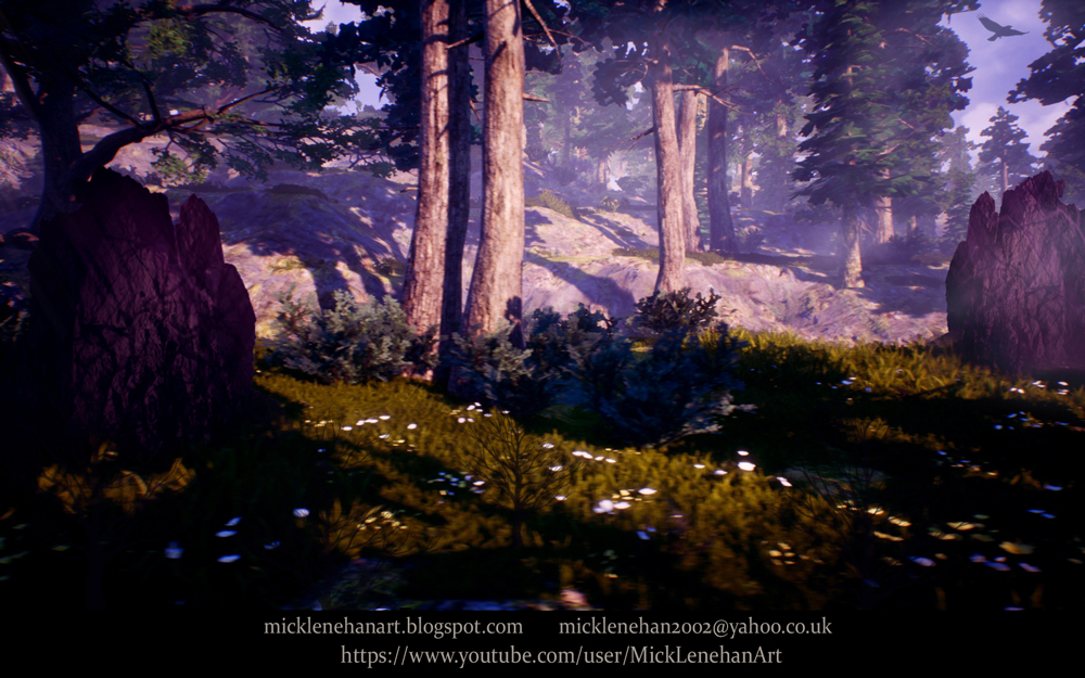 Forest Rocks by Mick2006
