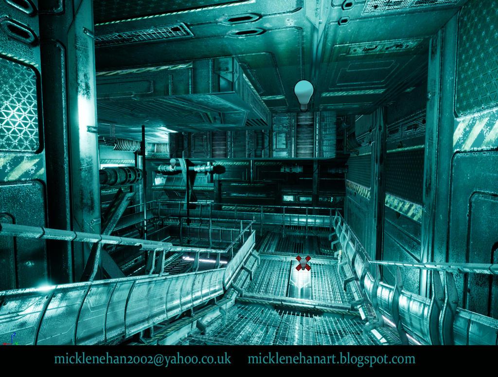 UE4 Corridor Screenshot by Mick2006
