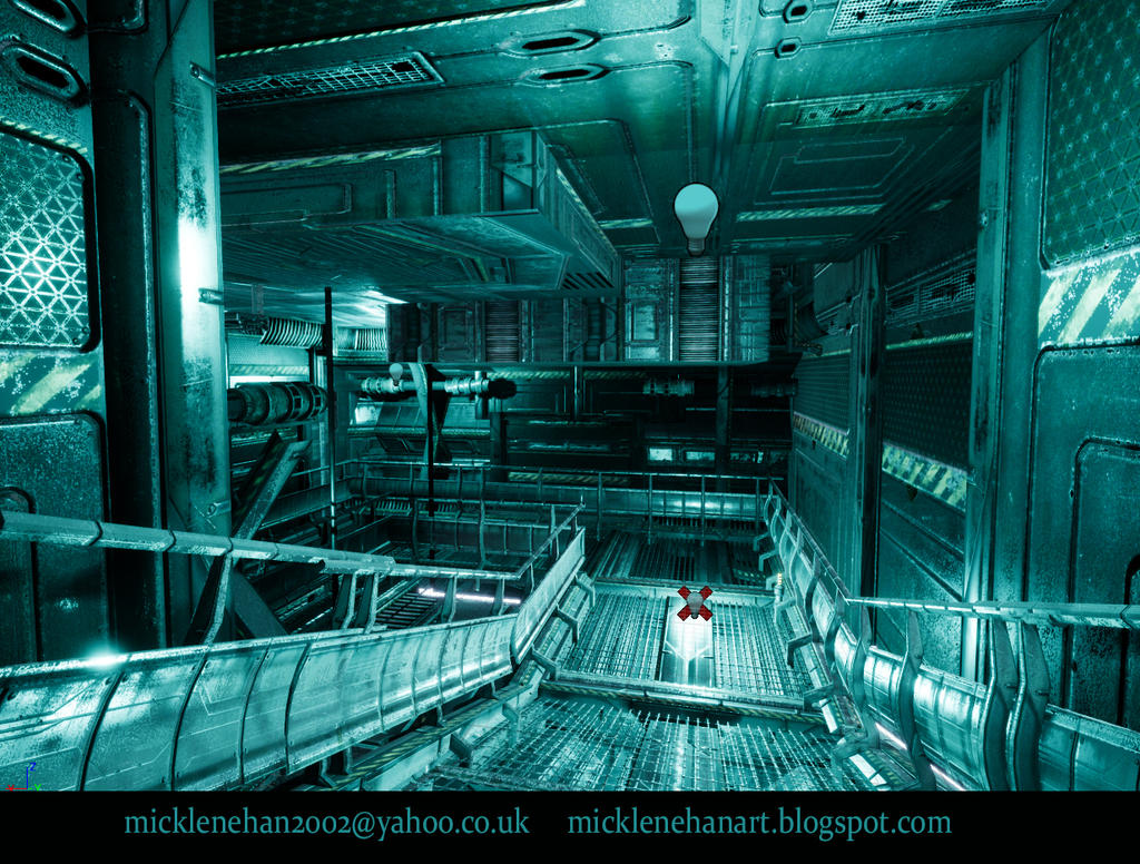 UE4 Corridor Screenshot by Mick2006 on DeviantArt