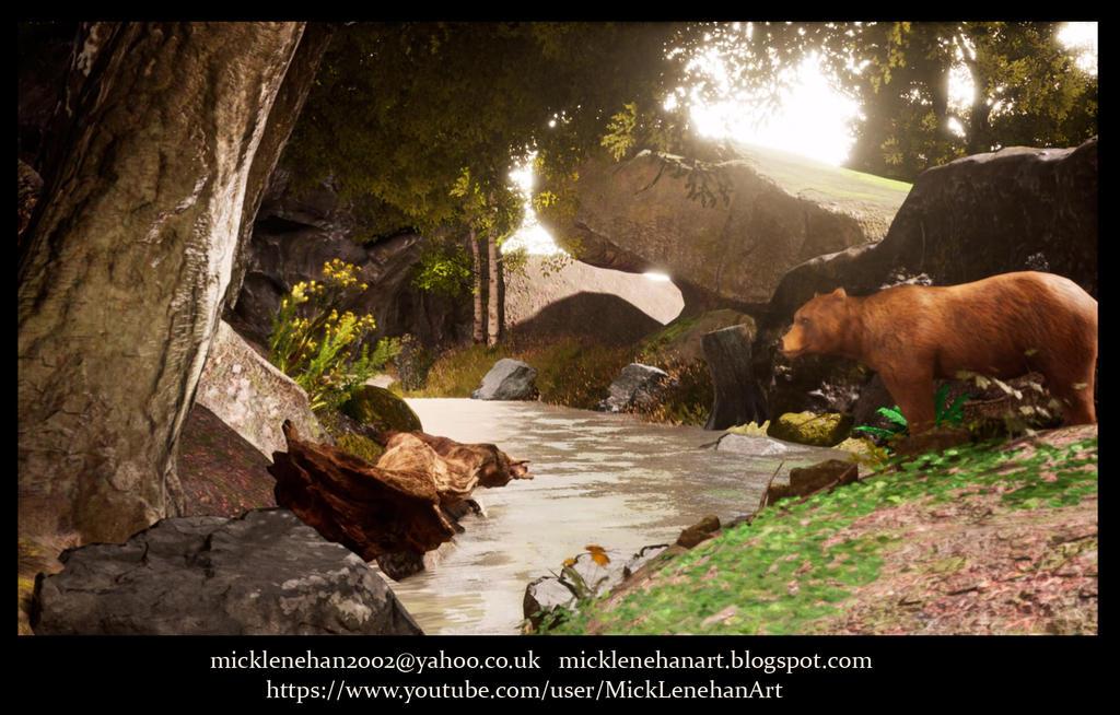 UE4 Landscape timelapse (video in description) by Mick2006