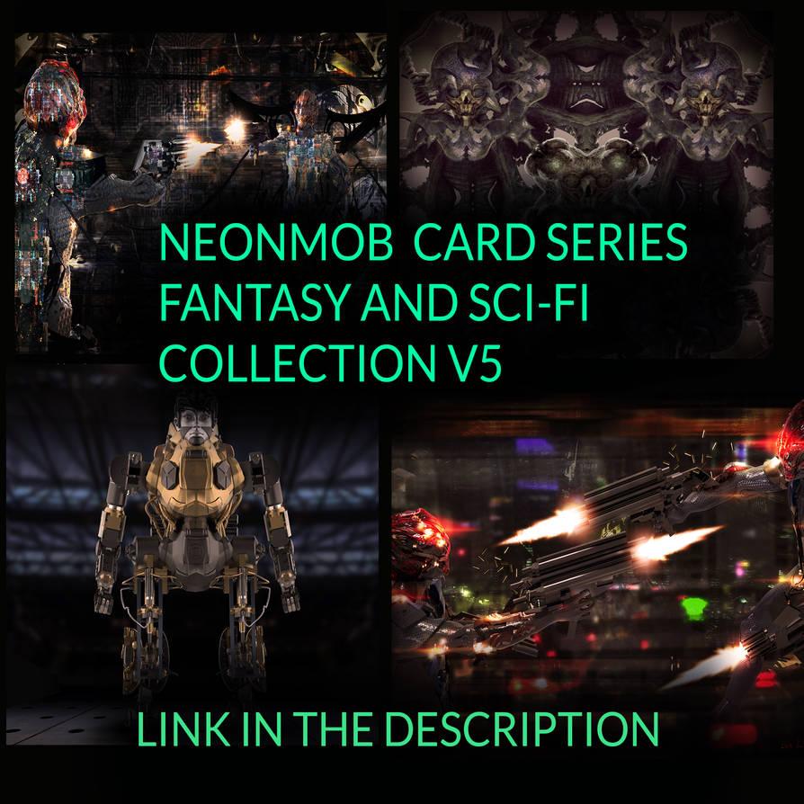 NeonMob card series (link in description) by Mick2006