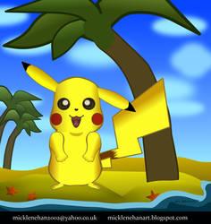 Pikachu Island (timelapse video in description) by Mick2006