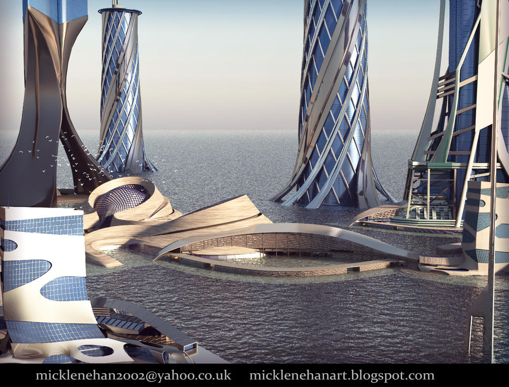 Floating Utopia by Mick2006
