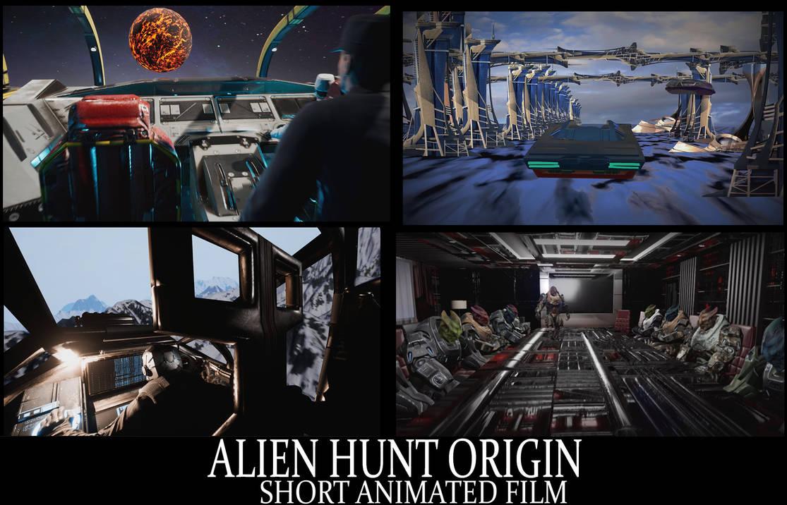 Alien Hunt Origin Animation (link in description) by Mick2006