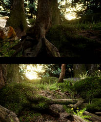 UE4 Quixel MegaScans Forest Video