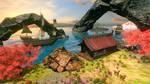 Flowscape Seaside Landscape Video