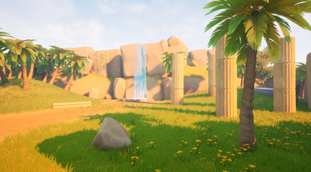 UE4 Stylised Island Animation