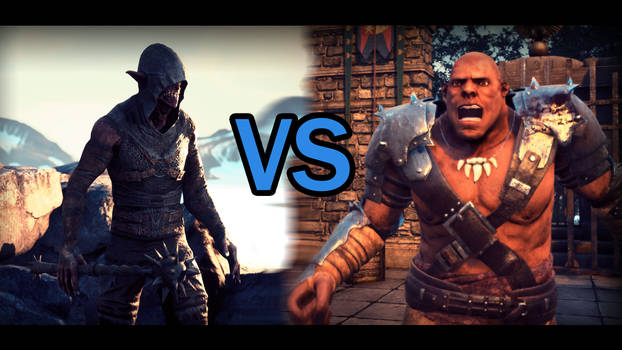 Orc VS Troll Battle Animation Video