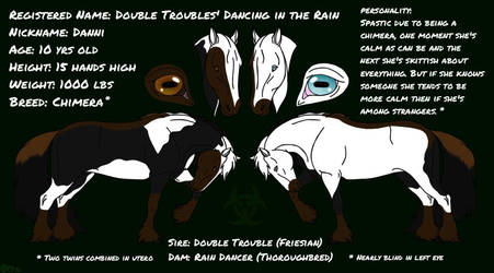 Danni - New OC - Ref Sheet by Shara-Moonglow