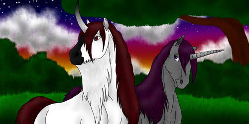 Sire and Dam by Shara-Moonglow
