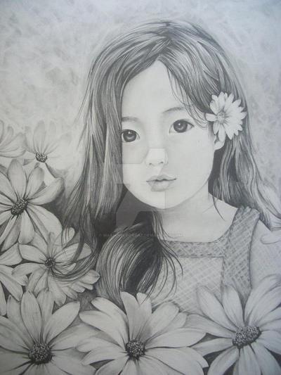 Little Korean Girl By MarianelaOrdaz On DeviantArt
