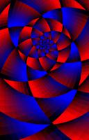 circle in a spiral by calderwa