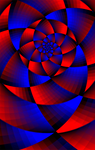 circle in a spiral