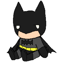Batman Journal Doll by Spychedelic
