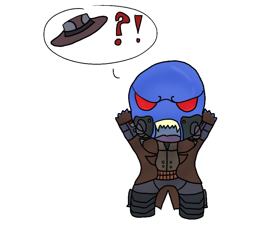 Wehr's Meh Het  : CHIBI CONTEST : by Spychedelic