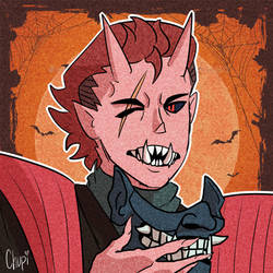 Halloween Oni Saizo Icon by Chupigator