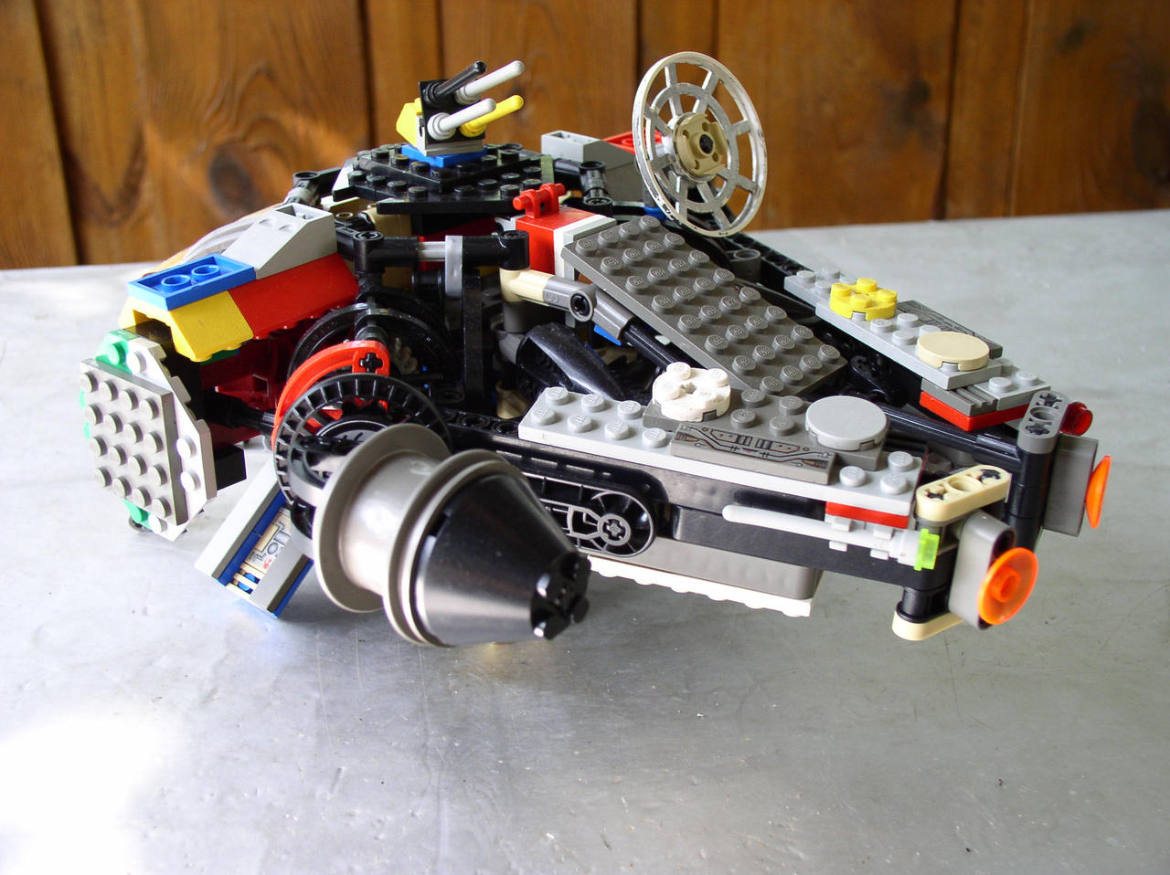 Lego Millenium Falcon Mini That falcon is cool but i like