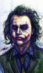 The Joker by PandorasBox341