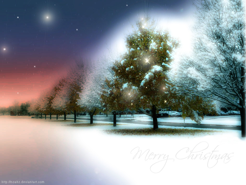 Christmas Wallpaper By Noahz