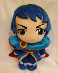 Custom Marth Plush by NikkiRiddle