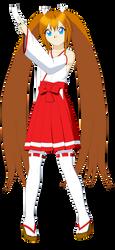 Reiko Tenshin (Miko Outfit) by Studio-Mizuki