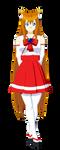 Sakura (Miko Outfit) by Studio-Mizuki
