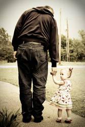 Kylie and Grandpa by mrwatson