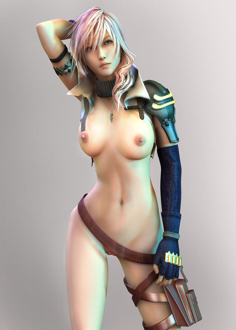 Lightning Standing by 3dbabes