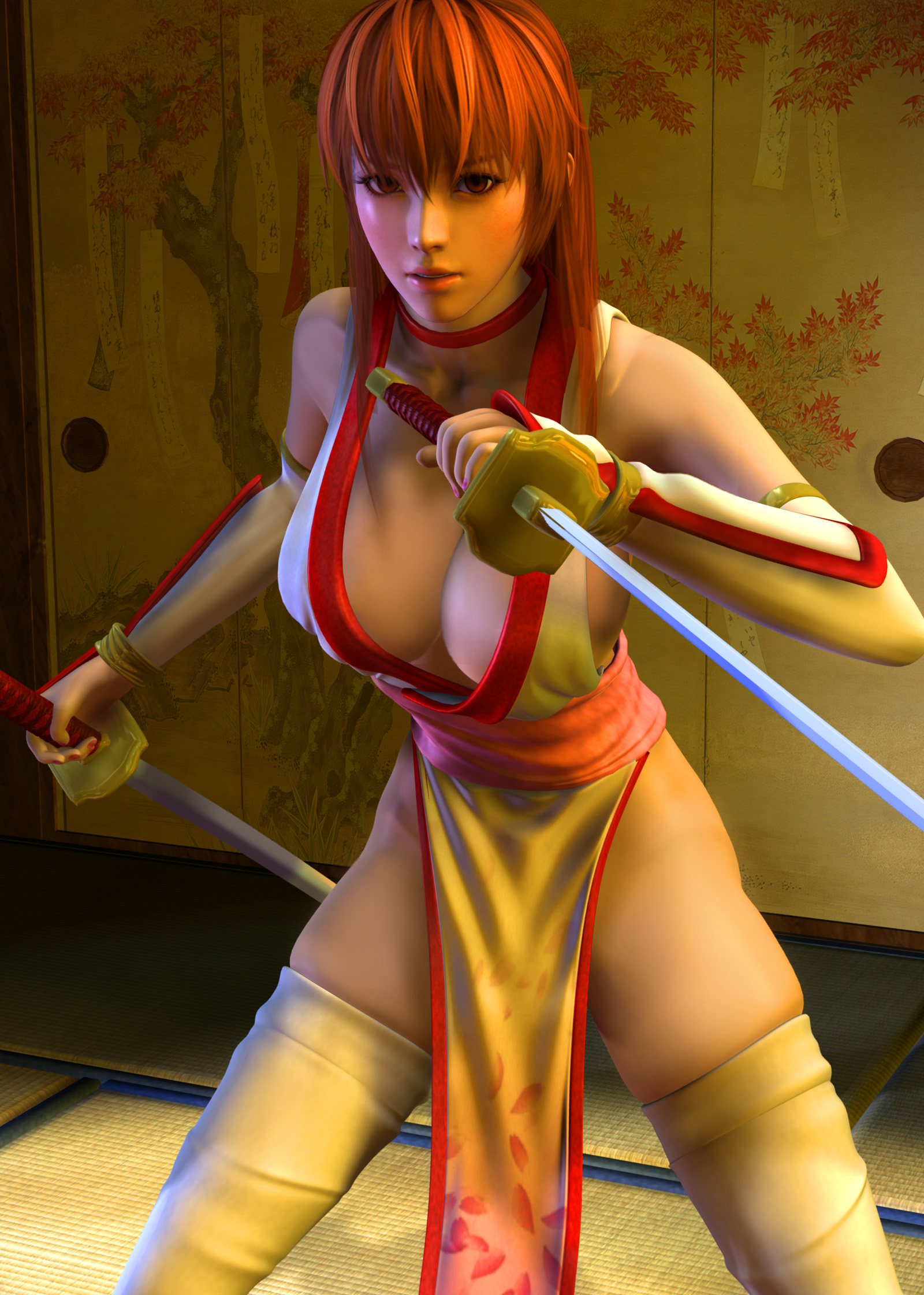 Kasumi x Tentacles 1 by 3dbabes