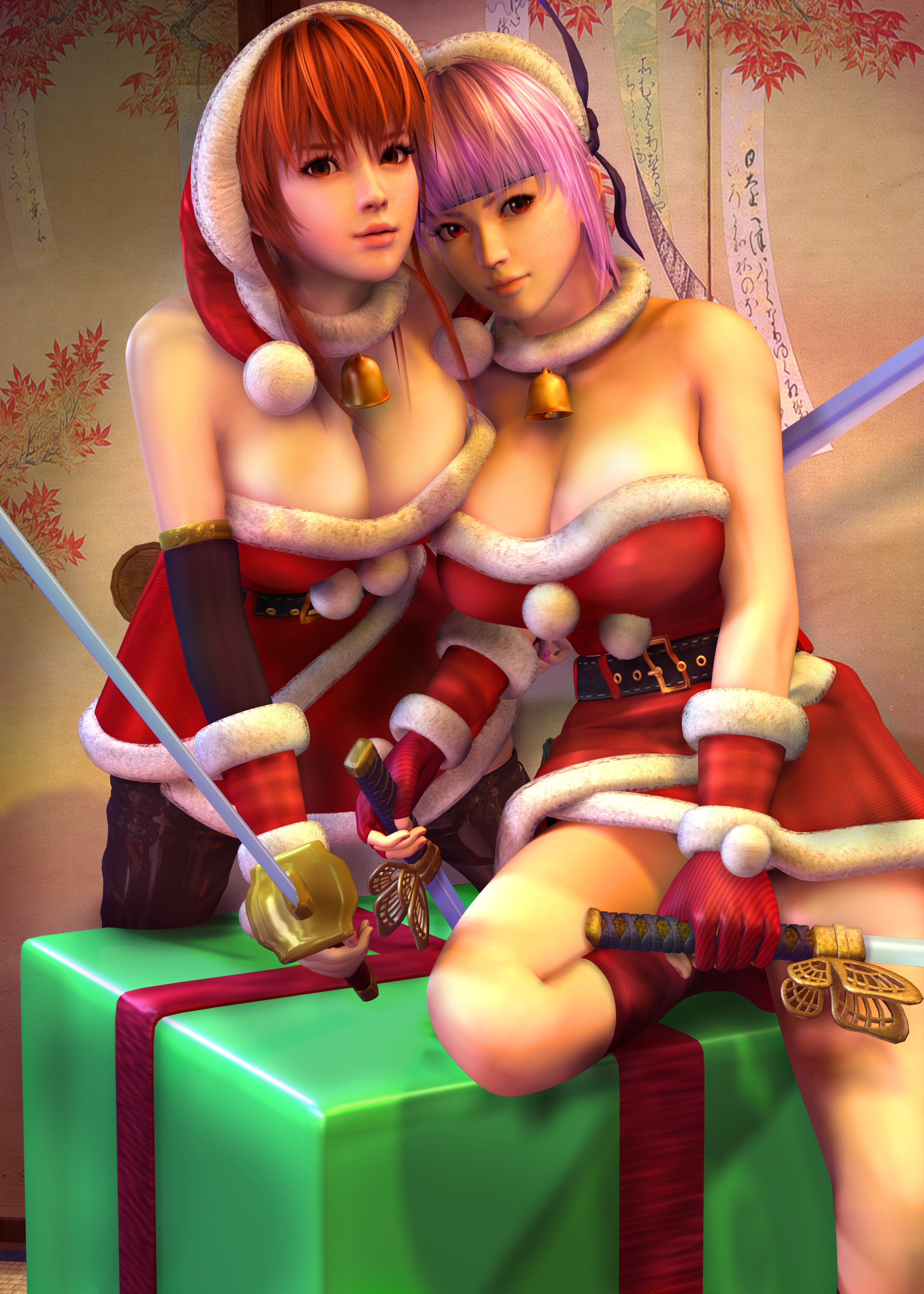 Merry Christmas by 3dbabes