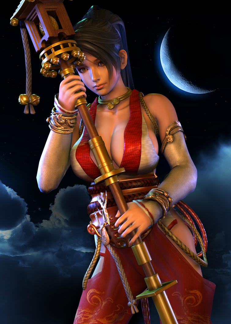 Momiji Moon by 3dbabes