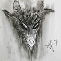 Mendes' Goat by AlexandrosTheDarkOne