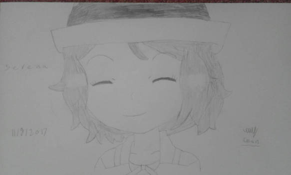 PKMN Serena portrait