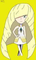 Lusamine, the Aether President
