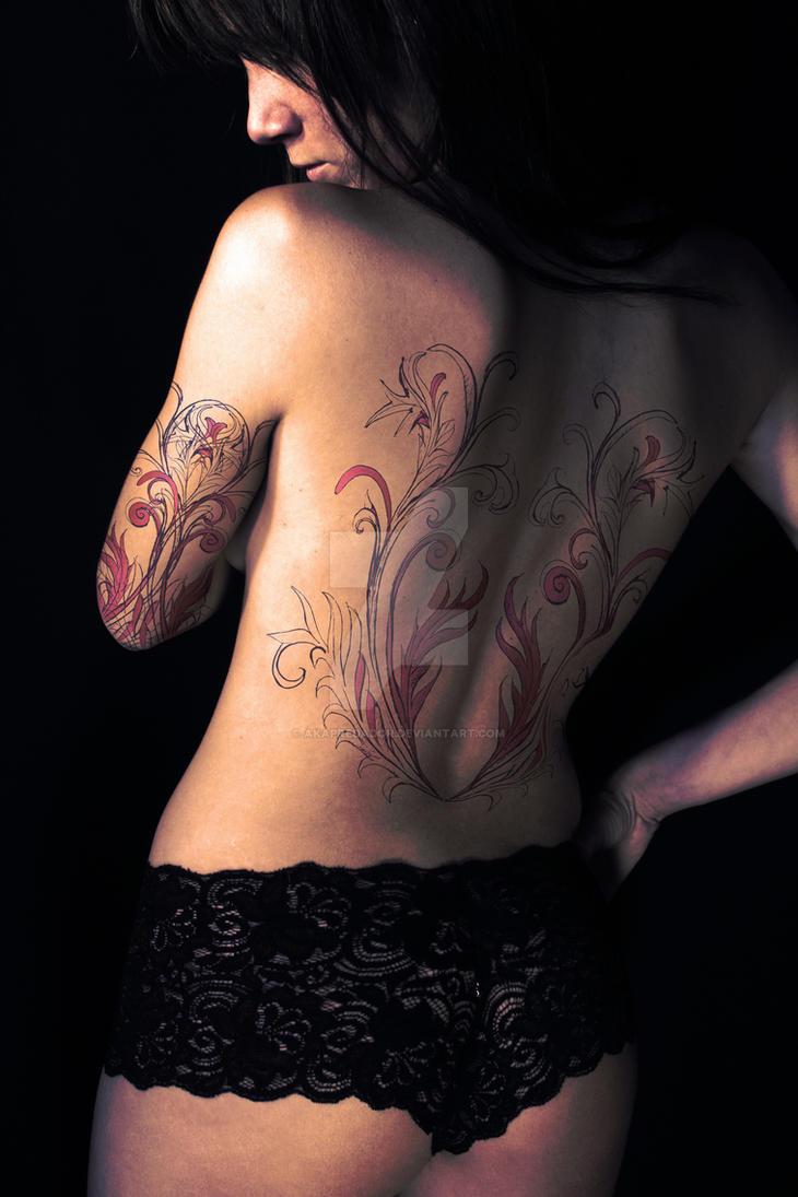 Tattooed Women by akaPREDADOR