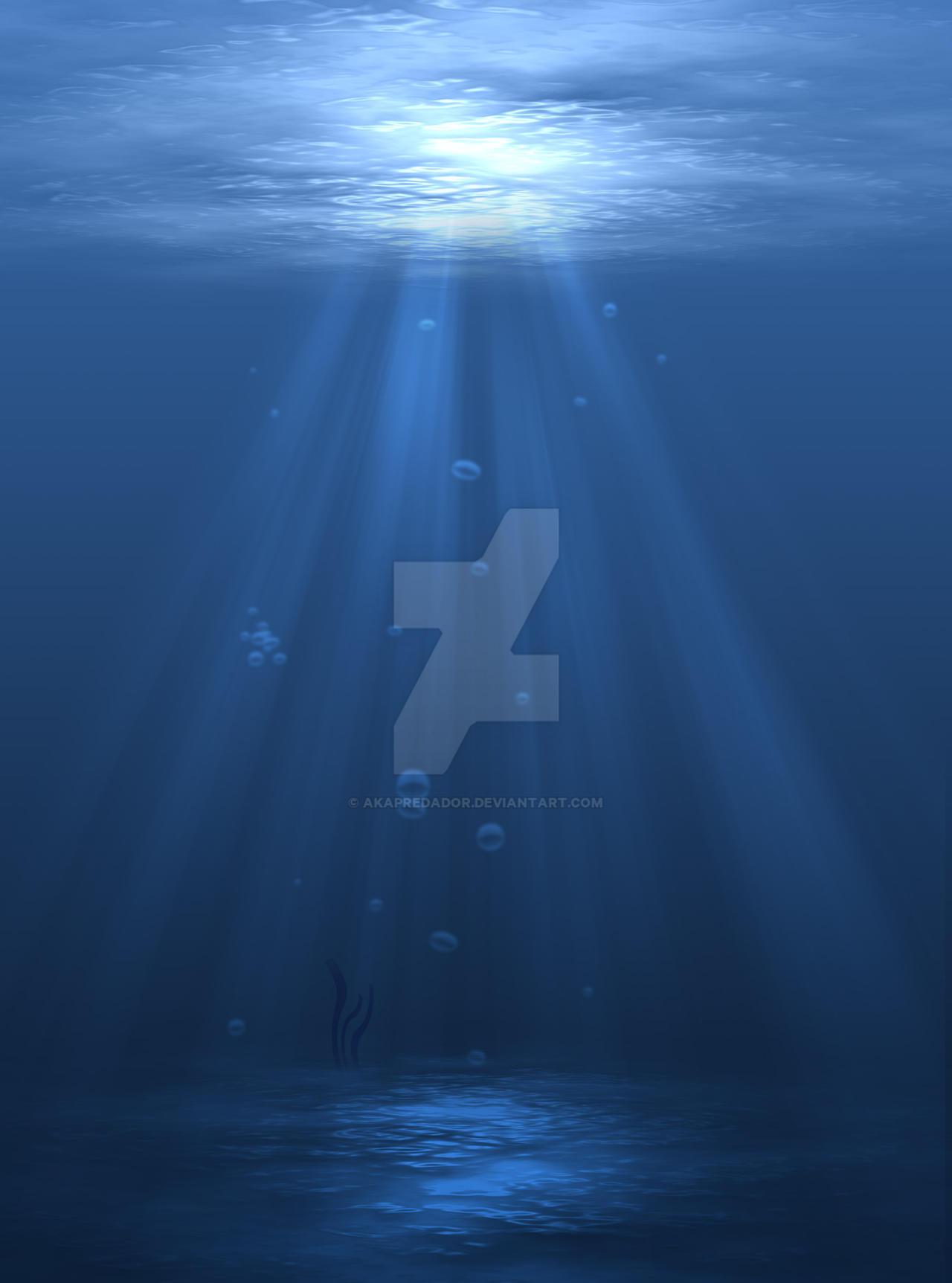 Underwater Scene by akaPREDADOR