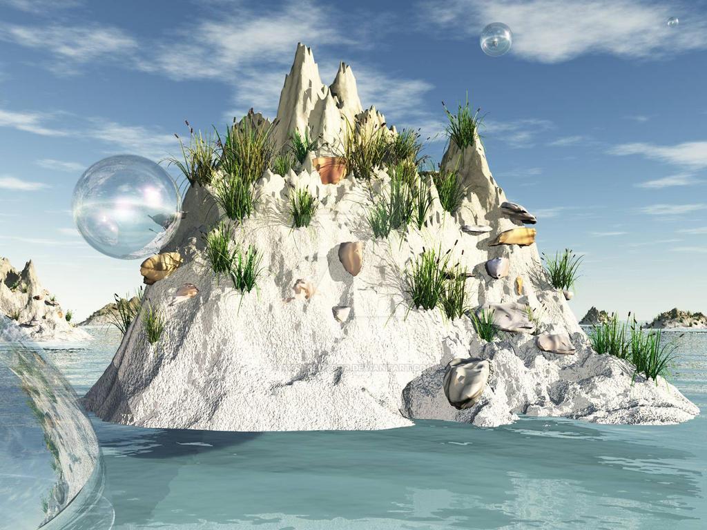 Island Bubbles by akaPREDADOR