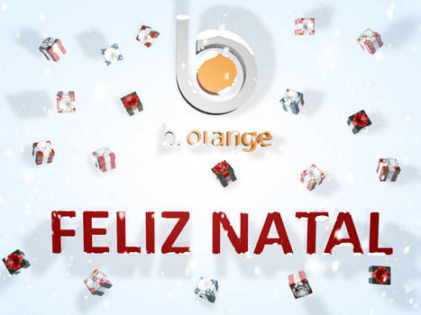Merry Christmas Cinema 4D - B.Orange