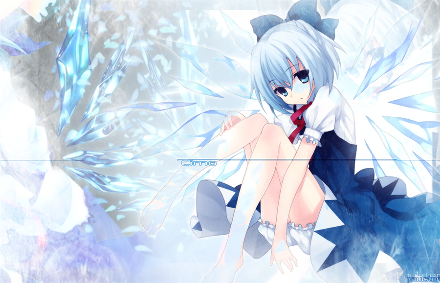 cirno 9 touhou wallpaper by paulster30 on deviantart