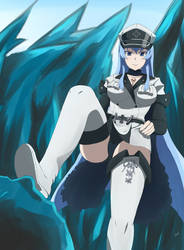 Esdeath / Esdesse by Paulster30 on DeviantArt