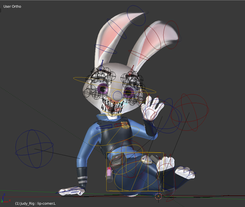 Play Cat Rig Animation