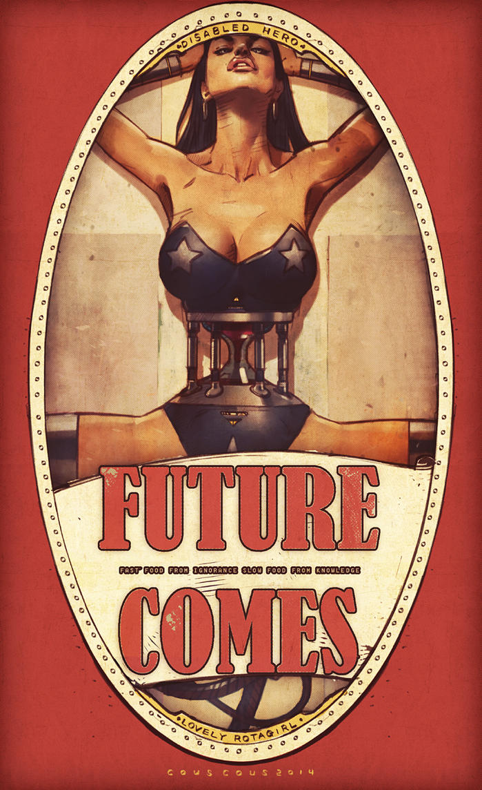 Futurecomes girl no.12 by couscousteam