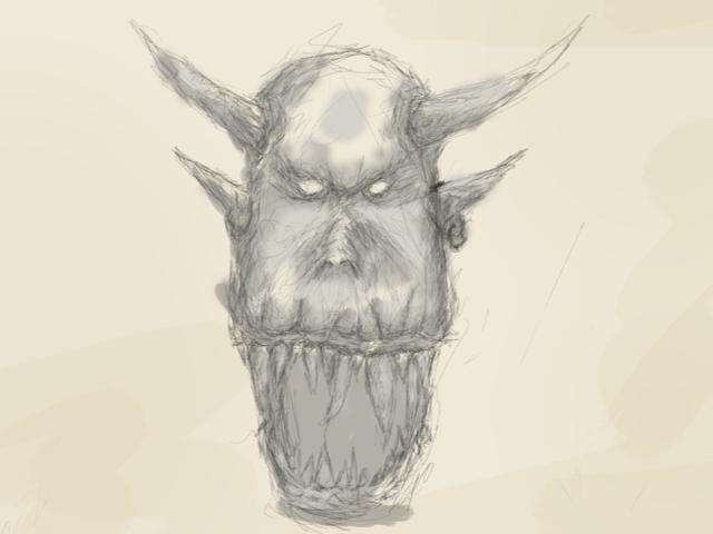 creature 5 by b3ngi