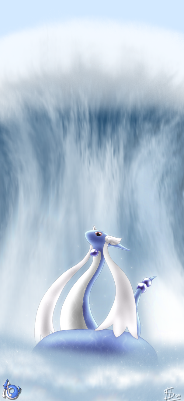 Fusion:Dragonair+Milotic by Esepibe