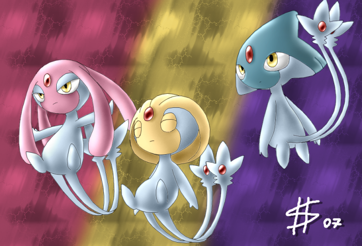 Shinnoh Trio Stand-alone by Esepibe