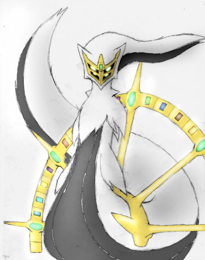 Arceus -Genesis Form- Concept by Esepibe