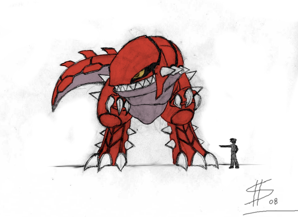 Groudon Human Form Groudon speed form concept by