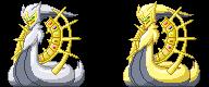 Arceus Genesis Form -Sprite- by Esepibe