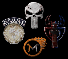 Soundtrack band logos